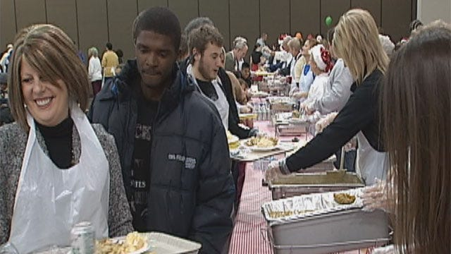 Annual Red Andrews Christmas Dinner Feeds Thousands