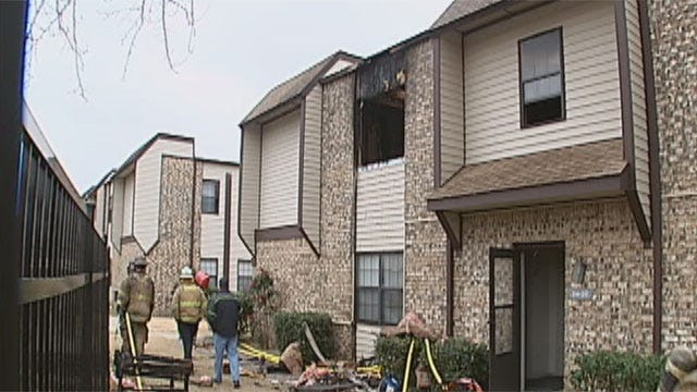 Christmas Morning Fire Injures Children, Firefighter