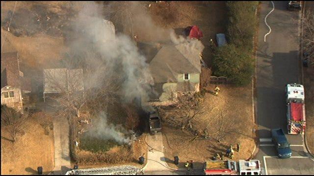 Christmas Tree Lights Spark House Fire In NW Oklahoma City