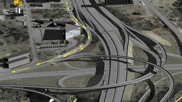 Plans Revealed For I-235, I-44 Interchange Makeover
