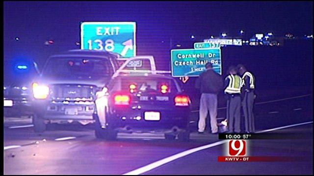 Woman Hit, Killed Along I-40 And Mustang Road In Oklahoma City