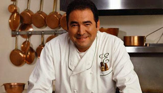Celebrity Chef Emeril Teaches Holiday Cooking At OKC's Penn Square