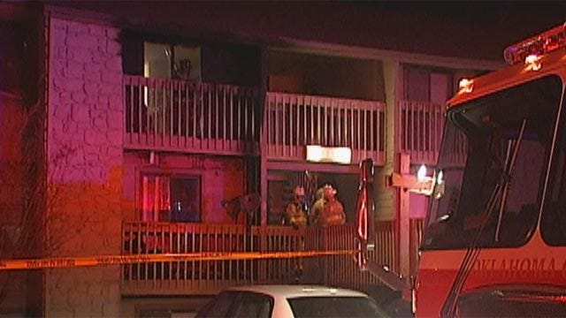 OKC Apartment Fire Causes Several Residents To Lose Home