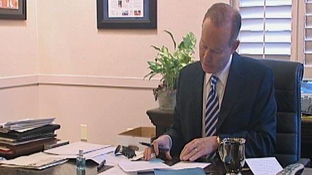 Mayor Mick Cornett Awarded 2nd Place In World Mayor 2010