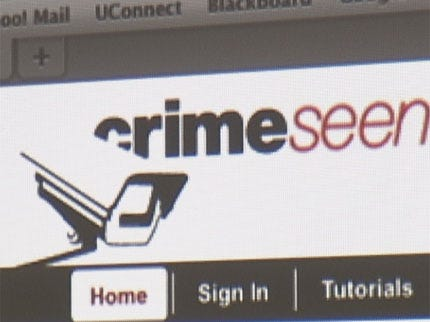 Web Site Aids in Solving Crimes