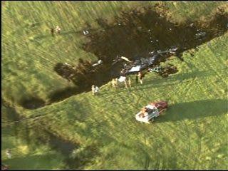2 Dead, 1 Injured in Medical Helicopter Crash