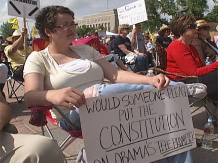 Who is the Tea Party in Oklahoma?