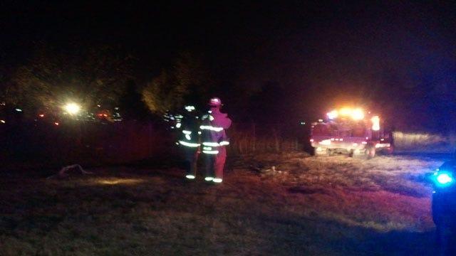 Single-Engine Plane Crashes Near Lake Overholser, Kills 1