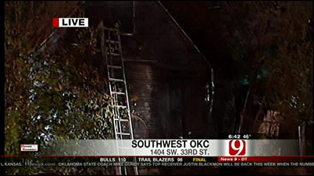 Fire Officials: Vacant House Fire Appears To Be Suspicious