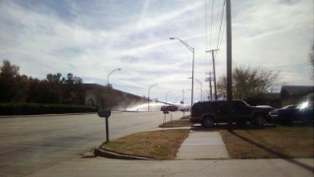 Fire Near OKC Science Museum Threatened Propane Tanks