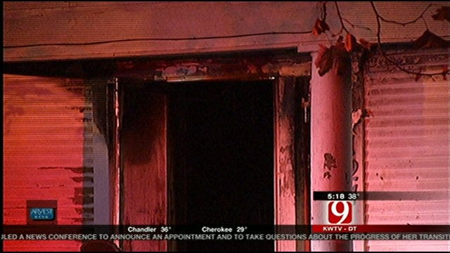 OKC Homeowner Not Home When House Fire Ignites