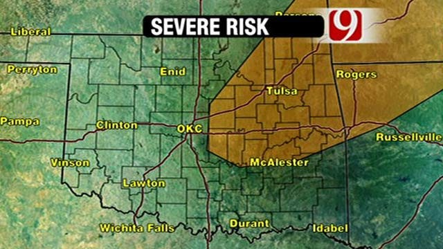 Unseasonably Warm Day Brings Chance Of Severe Weather