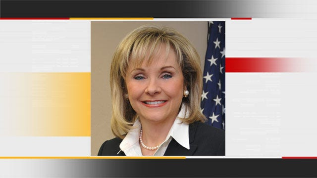 Governor-Elect Mary Fallin Appears On News 9 At Four