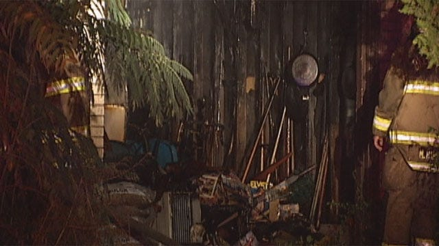 Oklahoma City Man Escapes Overnight House Fire