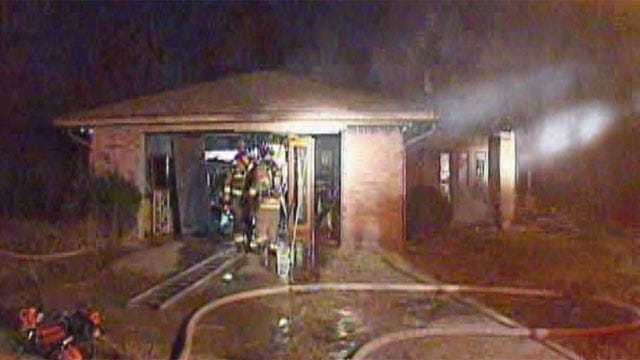 Vacant Home Catches Fire In Southwest Oklahoma City