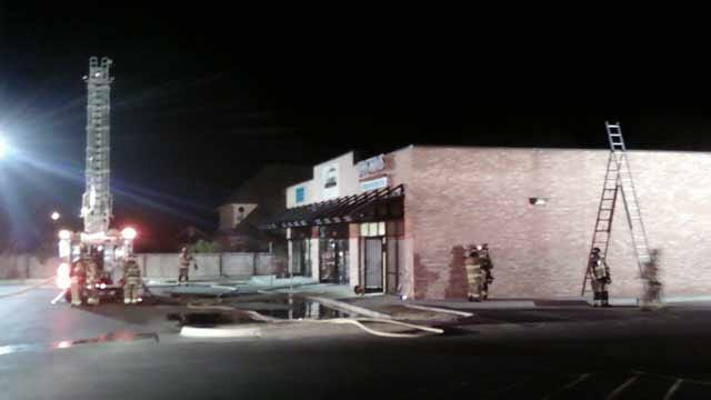 Oklahoma City Business Goes Up In Flames Overnight