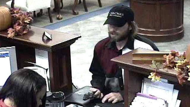 Man Charged In Weekend Oklahoma City Bank Robbery