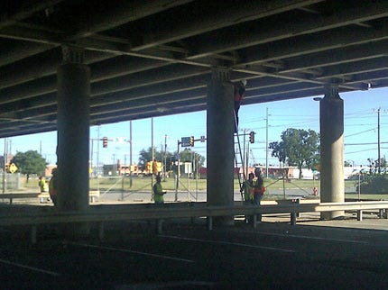 Teams Evaluating Roads, Bridges, Buildings After Oklahoma Earthquake