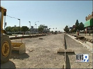Downtown Construction Shouldn't Impact Thunder Game Traffic This Season