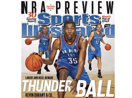 Kevin Durant Graces Cover of New Sports Illustrated