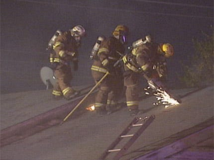 Family Escapes Midwest City House Fire