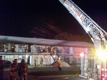 Confusion in Location Causes Firefighters' Late Response to Apartment Fire