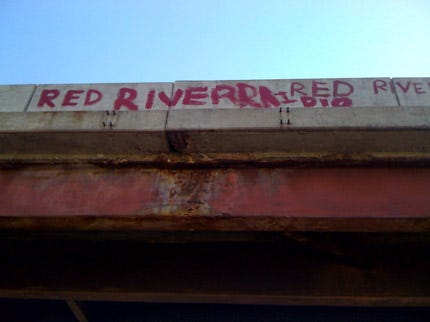 D.A. Will Not File Charges Against OU Ruf-Neks For Painting Bridge