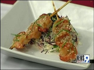 Miso-Sake Glazed Shrimp