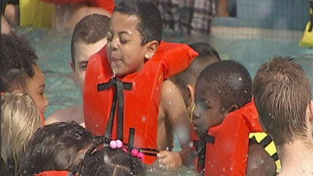 Midwest City 'Wahoo' Water Event Fun, But Filled With Safety Lessons