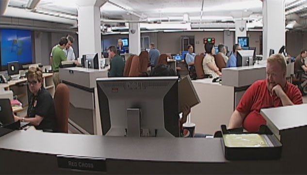 Emergency Operation Center Activated Despite Lack of Disaster