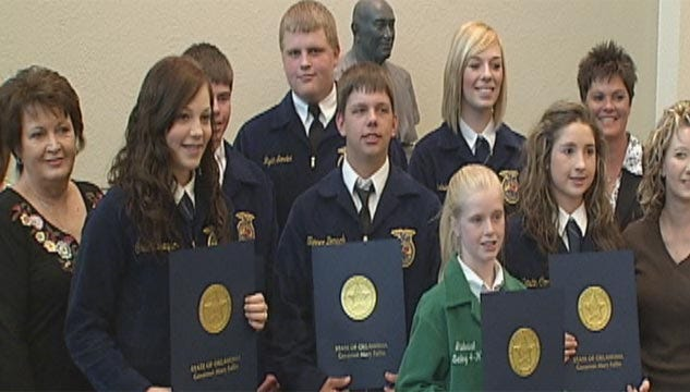 Young Farmers' Donation To Feed Hundreds Of Hungry Oklahomans