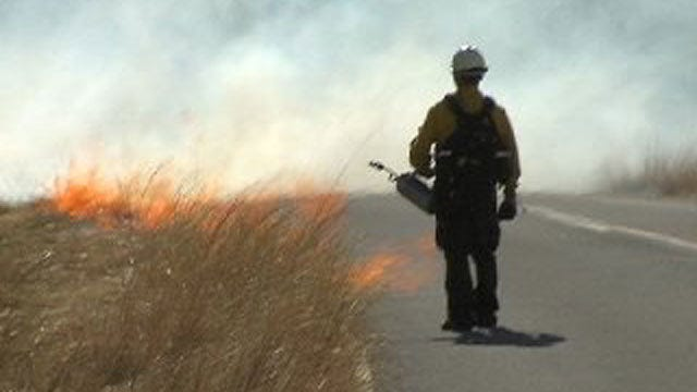 Fire Burns More Than 1,500 Acres In Fort Sill