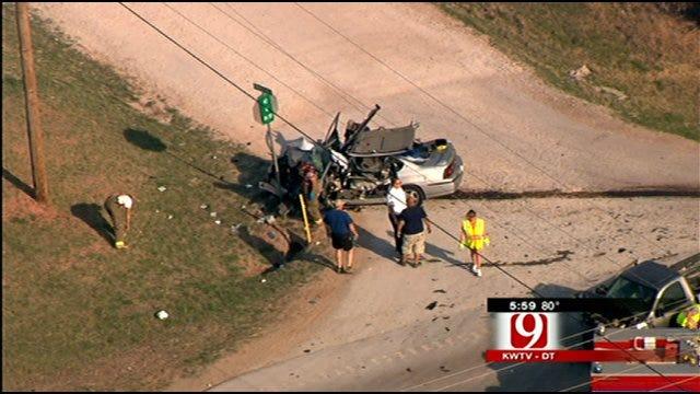 Man Killed in 3-Car Crash On Highway 74 In Logan County