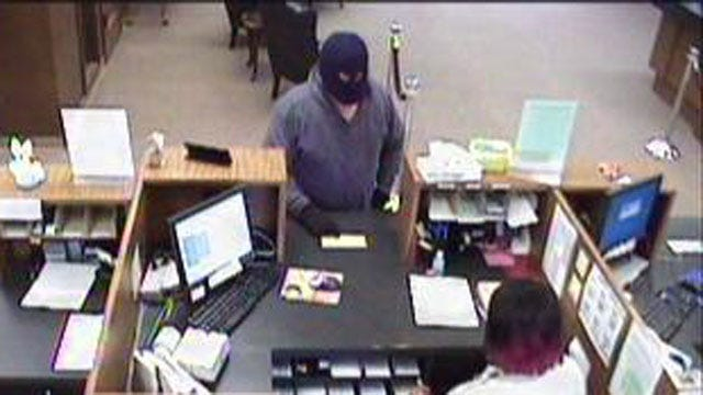 Masked Man With Gun Robs Midwest City Bank