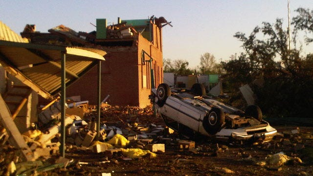 Sisters Killed, Power Out After Tornado In Tushka