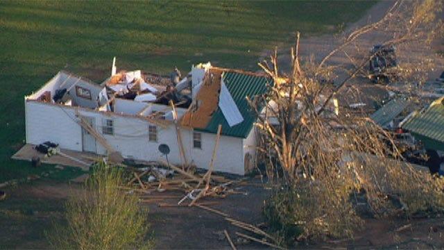 Fallin Cancels Tour Of Tornado-Ravaged Tushka