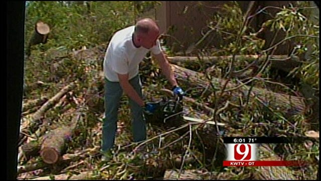 Tushka Begins Long Task Of Cleaning Up After Deadly Tornado
