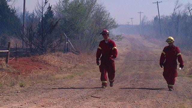 Family Camping Trip Starts Grass Fire At Lake Stanley Draper
