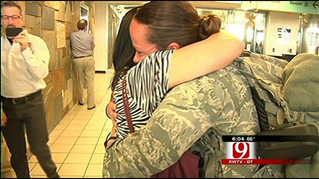 Airman Blogger Back on Oklahoma Soil