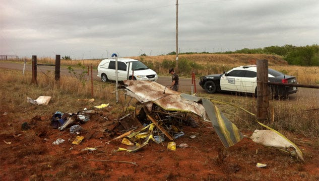 1 Killed In Beckham County Plane Crash