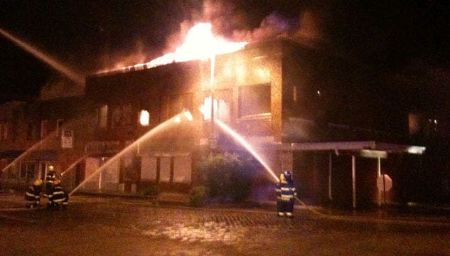 Fire Ravages Two Historic Buildings In Seminole