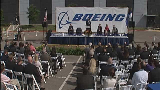 Boeing Breaks Ground on OKC Office Building
