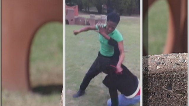 Oklahoma Girl Fight Caught On Camera