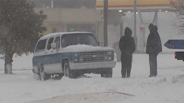 Fallin Seeks Disaster Declaration For February Snow Storm