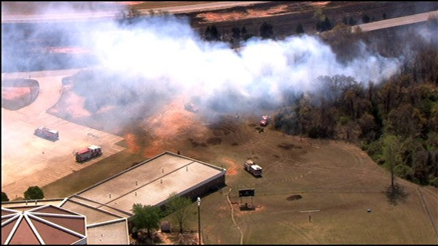 Homes, Buildings Destroyed By Wildfire In Spencer