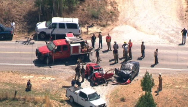 Names Released Of 4 Killed In Caddo County Wreck