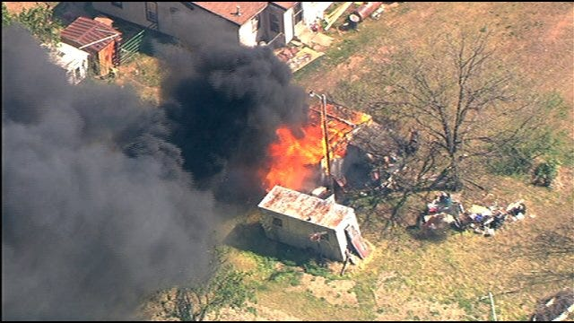 Wildfires Flare Up In Oklahoma County