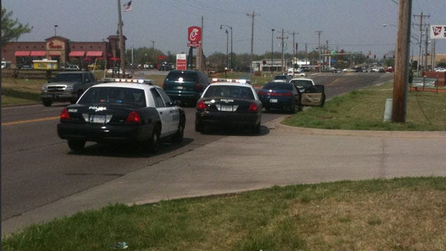 Gunshot Victim Found During Traffic Stop In Moore