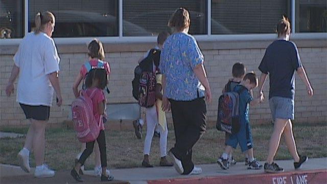 Heat, School Zones Concerns As OKC Students Head Back To School