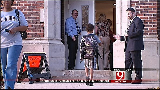 OKCPS Respond To First Day Of Continuous Learning Calendar In Extreme Heat